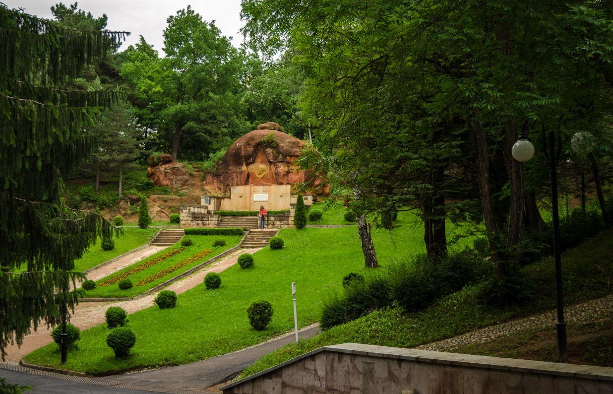 фото кисловодского парка простой альбомный